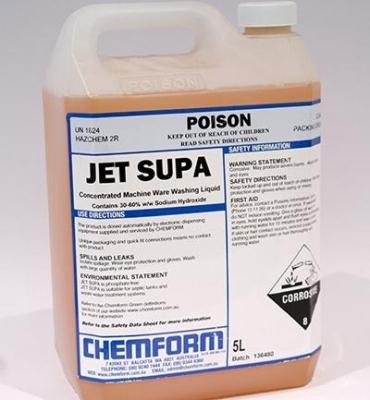 Dishwashing Liquid, Jet Supa 5L - Click for more info