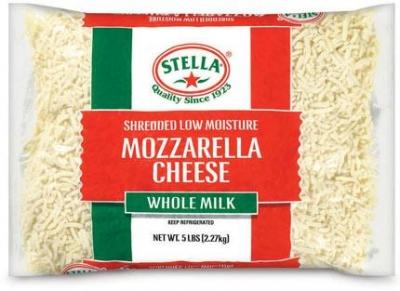 Mozzarella Shredded 2.26kg - Stella* - Click for more info