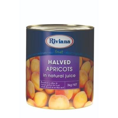 Apricot Halves 3kg - Click for more info