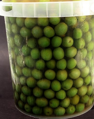 Green Olives Sicilian Whole 9.2kg - Click for more info