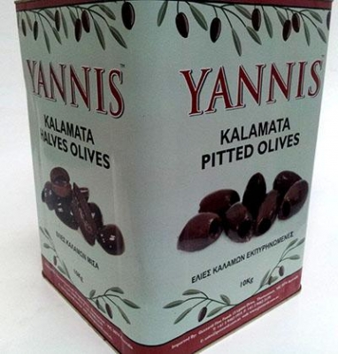 Kalamata Olives Pitted 10kg - Click for more info