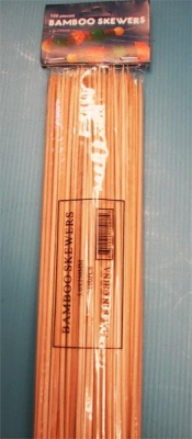 Skewers Bamboo 120m (250) - Click for more info