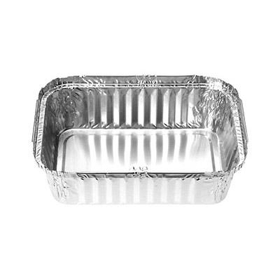 Foil Tray Rectangle 448, 40 Oz volume - Click for more info