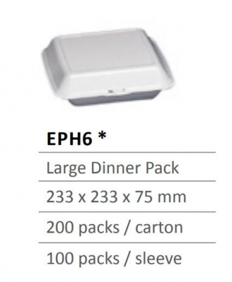 Foam Container EPH6 - Click for more info
