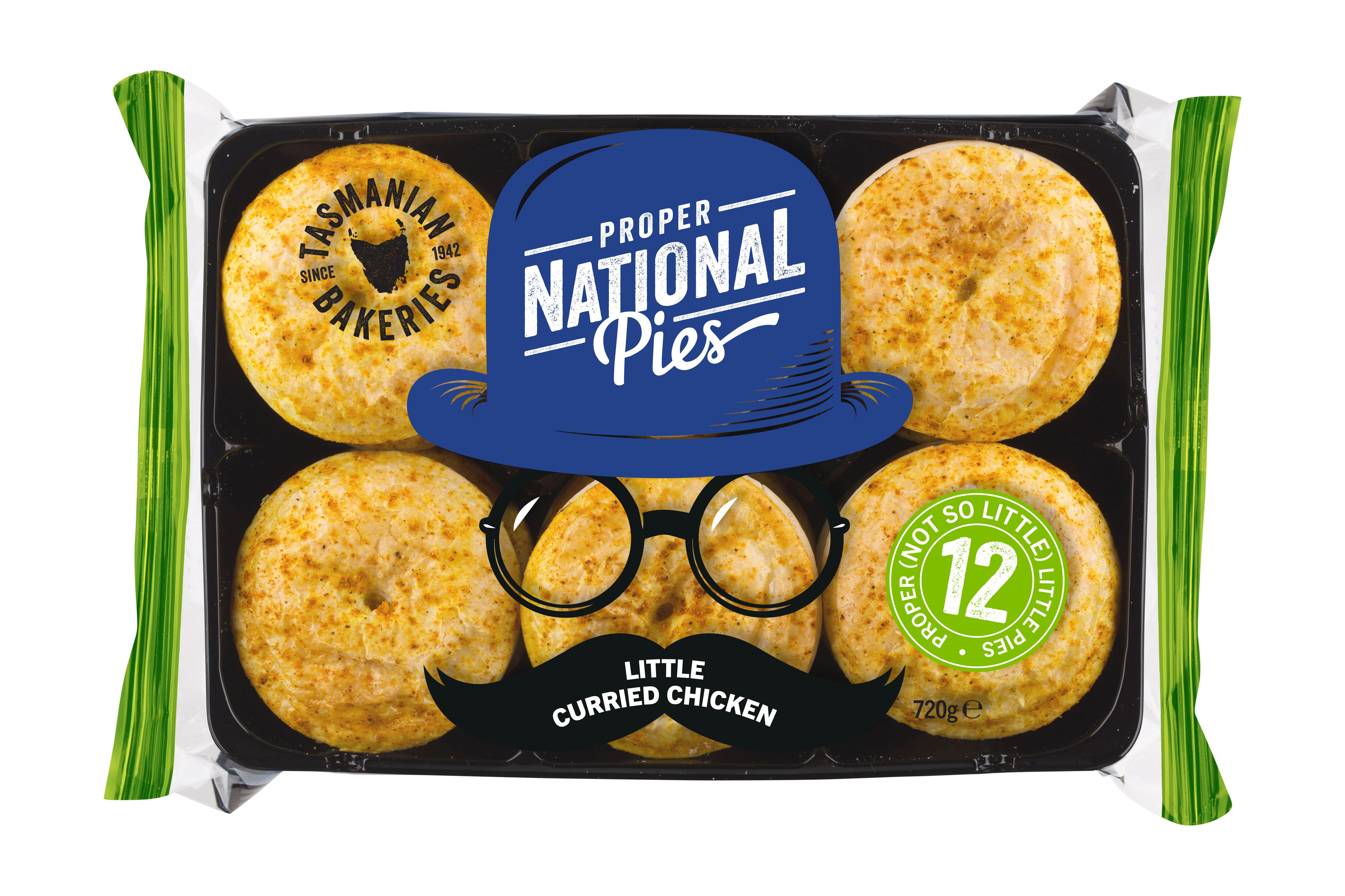 Little Curried Chicken Pies 60g - Click for more info