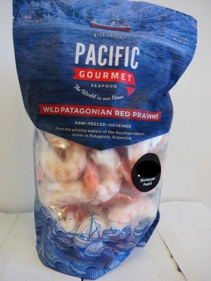 Prawn Cutlet Argentinian 16/20, 1kg - Click for more info