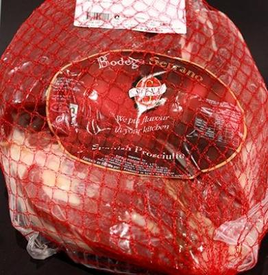 Prosciutto Spanish Serrano, Boneless - Click for more info