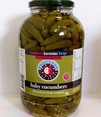 Cornichons Baby 2kg - Click for more info