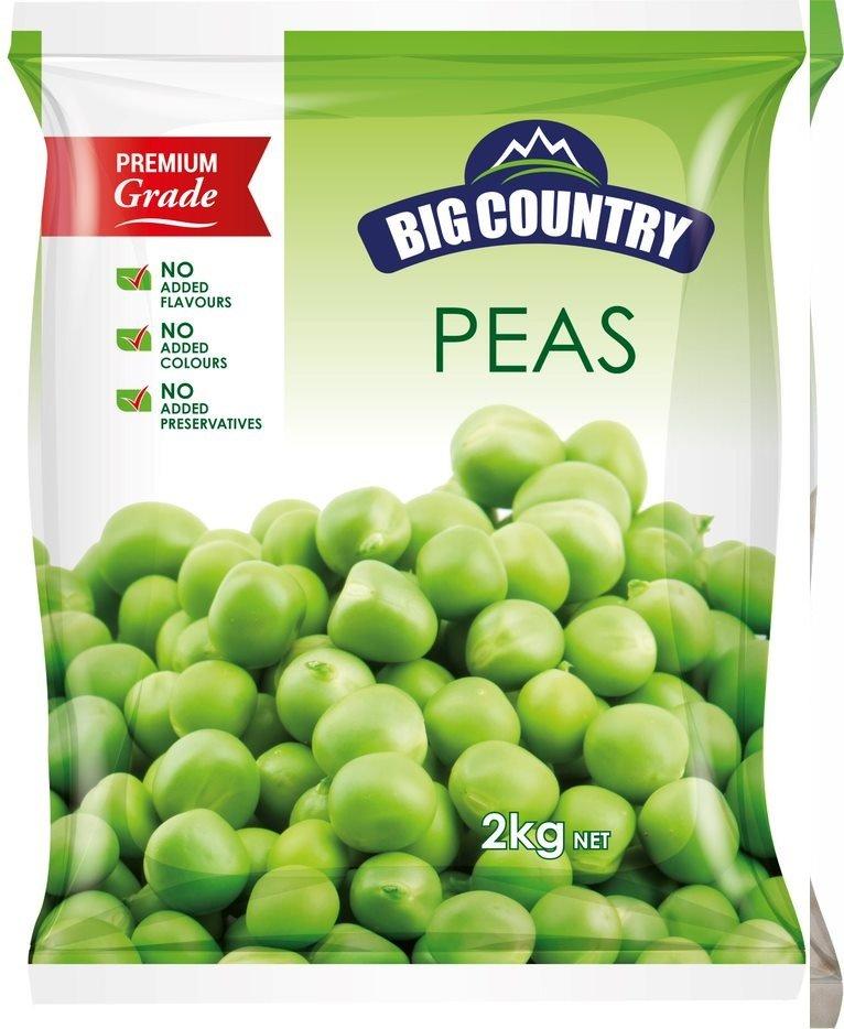 Peas - Frozen 8x2kg - Click for more info